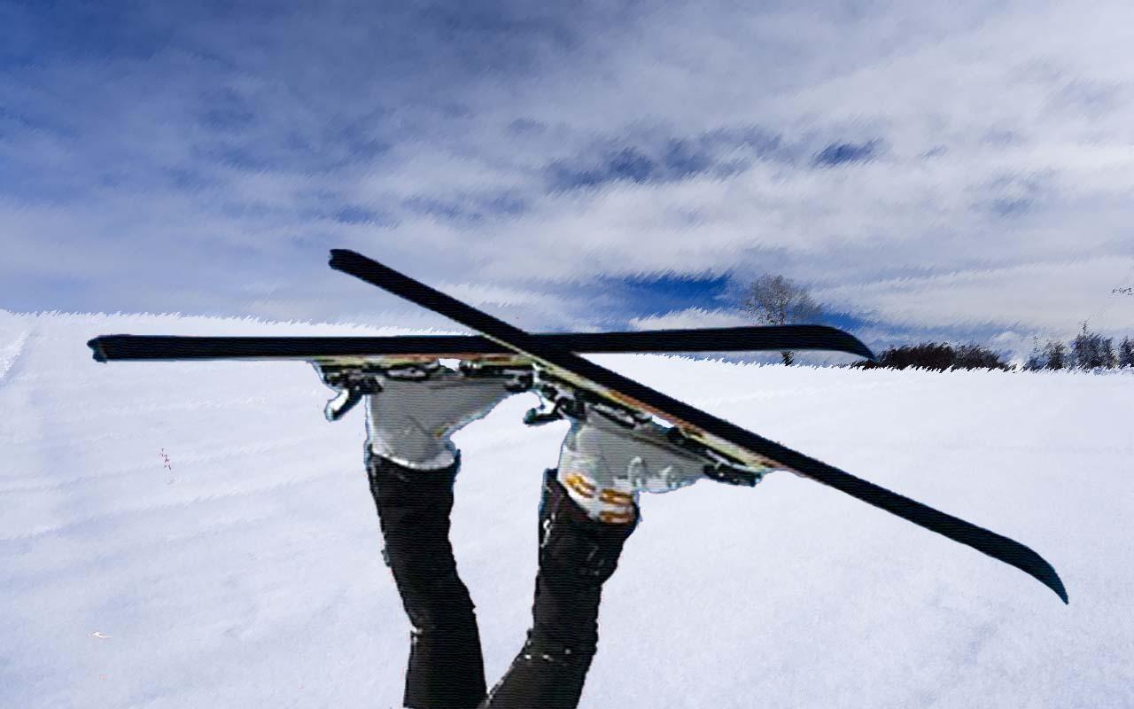 Как кататься на лыжах, катание на лыжах, лыжи, зима