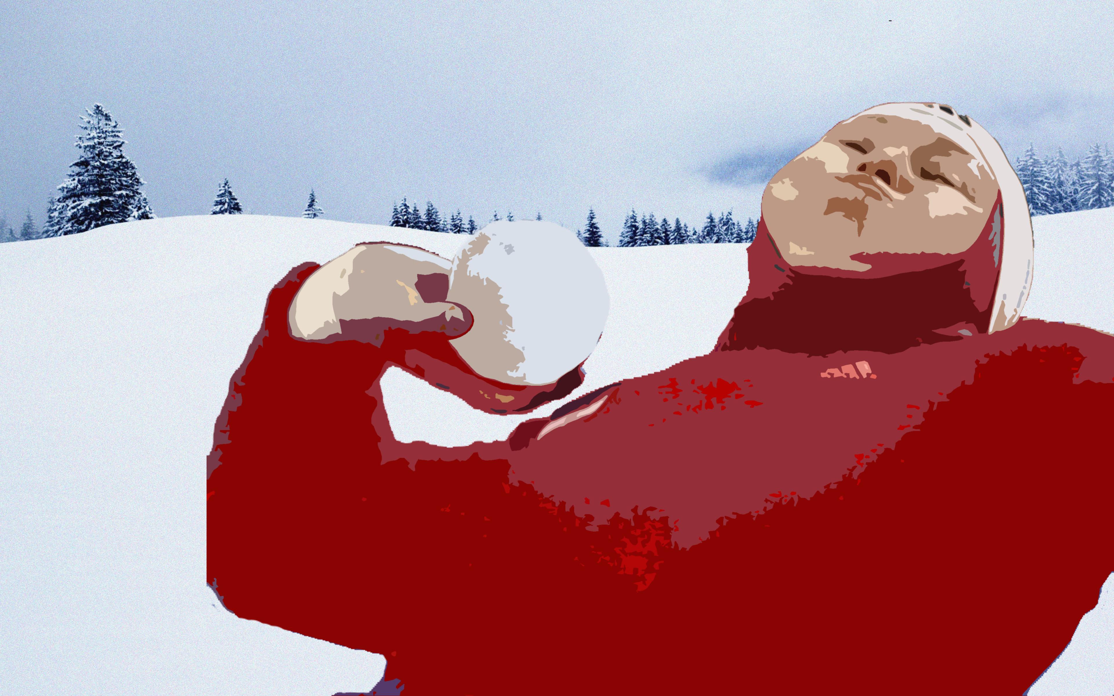 Снежки, зима, активный отдых, как играть в снежки