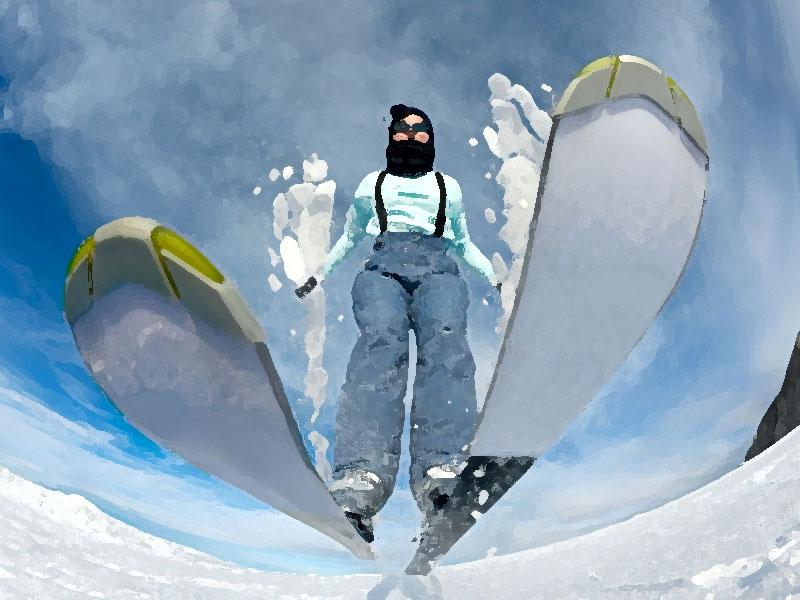 как, подбирать, выбирать, лыжи, палки, по росту