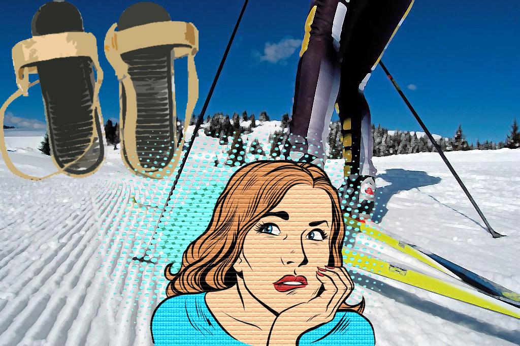 Виды лыжных креплений, лыжные крепления, лыжи