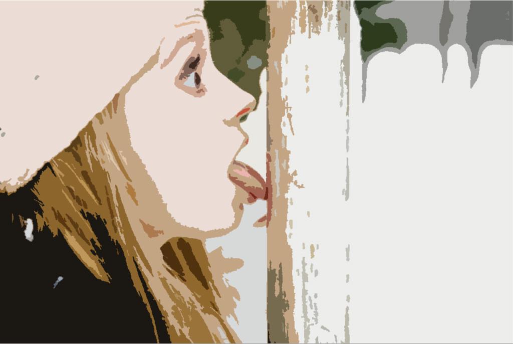 прилип языком на морозе, что делать