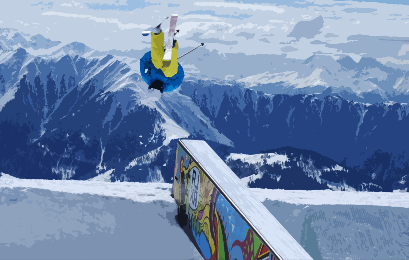 безопасность при прыжках с трамплина на лыжах