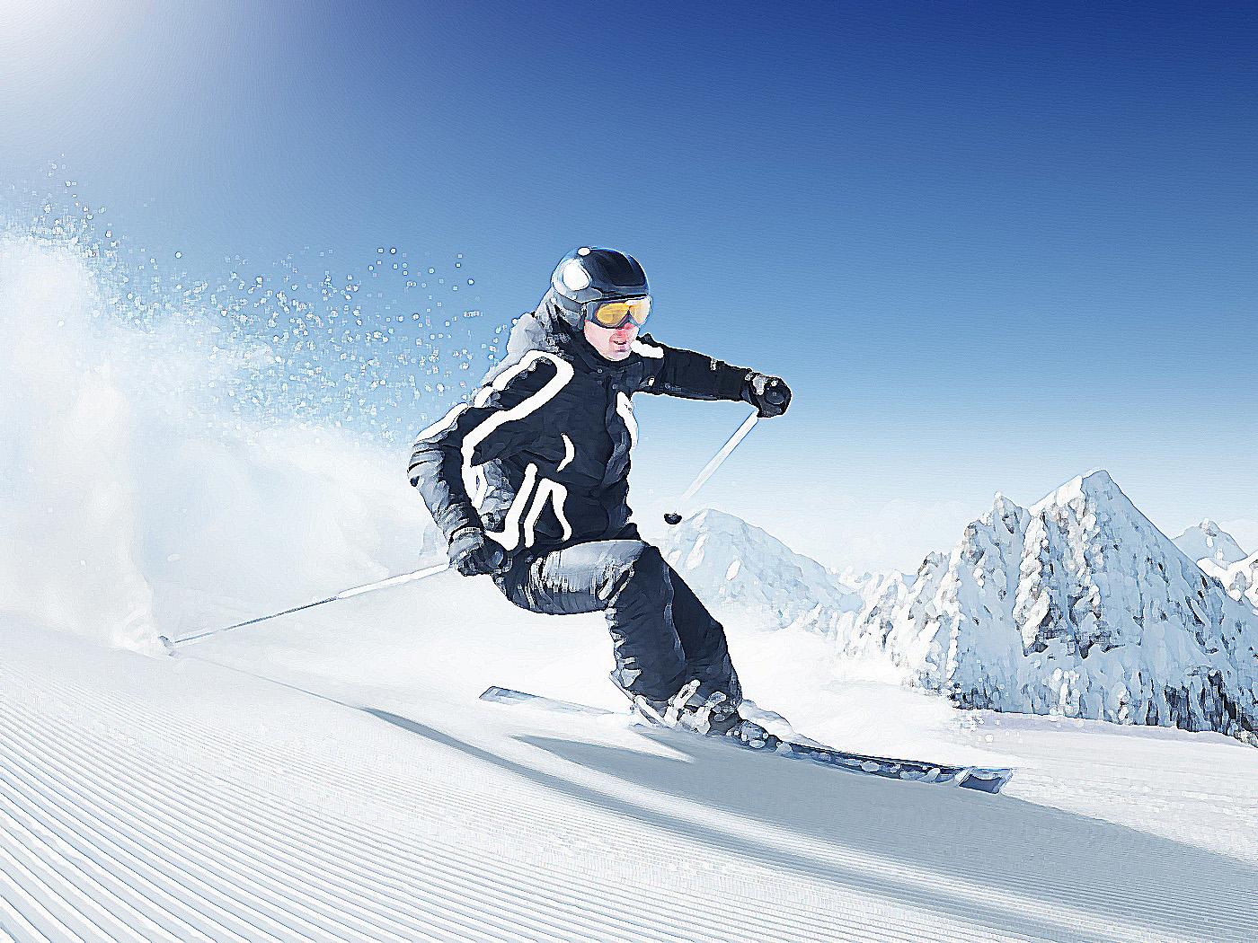 правила безопасности при спуске с горы