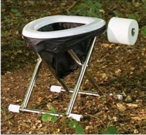 туалет в походе
