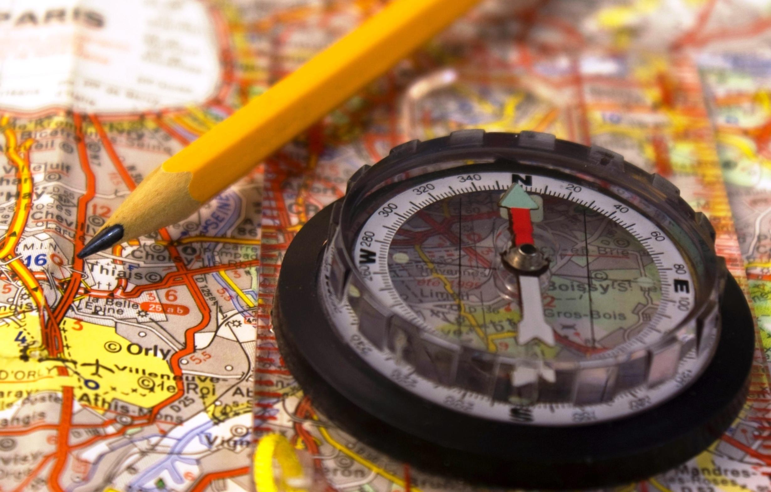 Как ориентироваться по карте