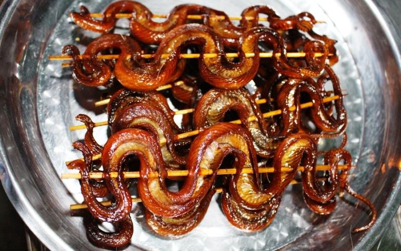 Как приготовить змею в походе